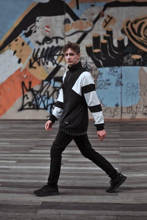 manlig modell, modefotografi