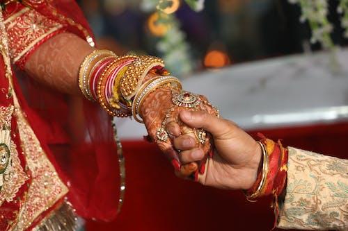 Základová fotografie zdarma na téma 4k tapeta, černá tapeta, fotka, indická svatba