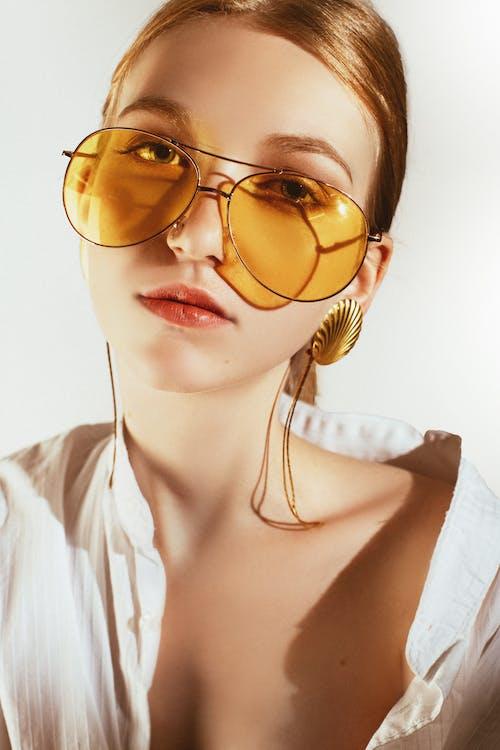 墨鏡, 女人, 樣式, 漂亮 的 免費圖庫相片