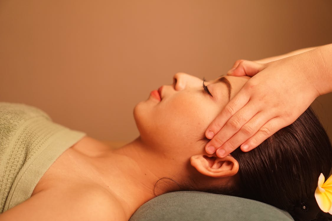 naturlig skönhet, skönhetsbehandling, spa-massage