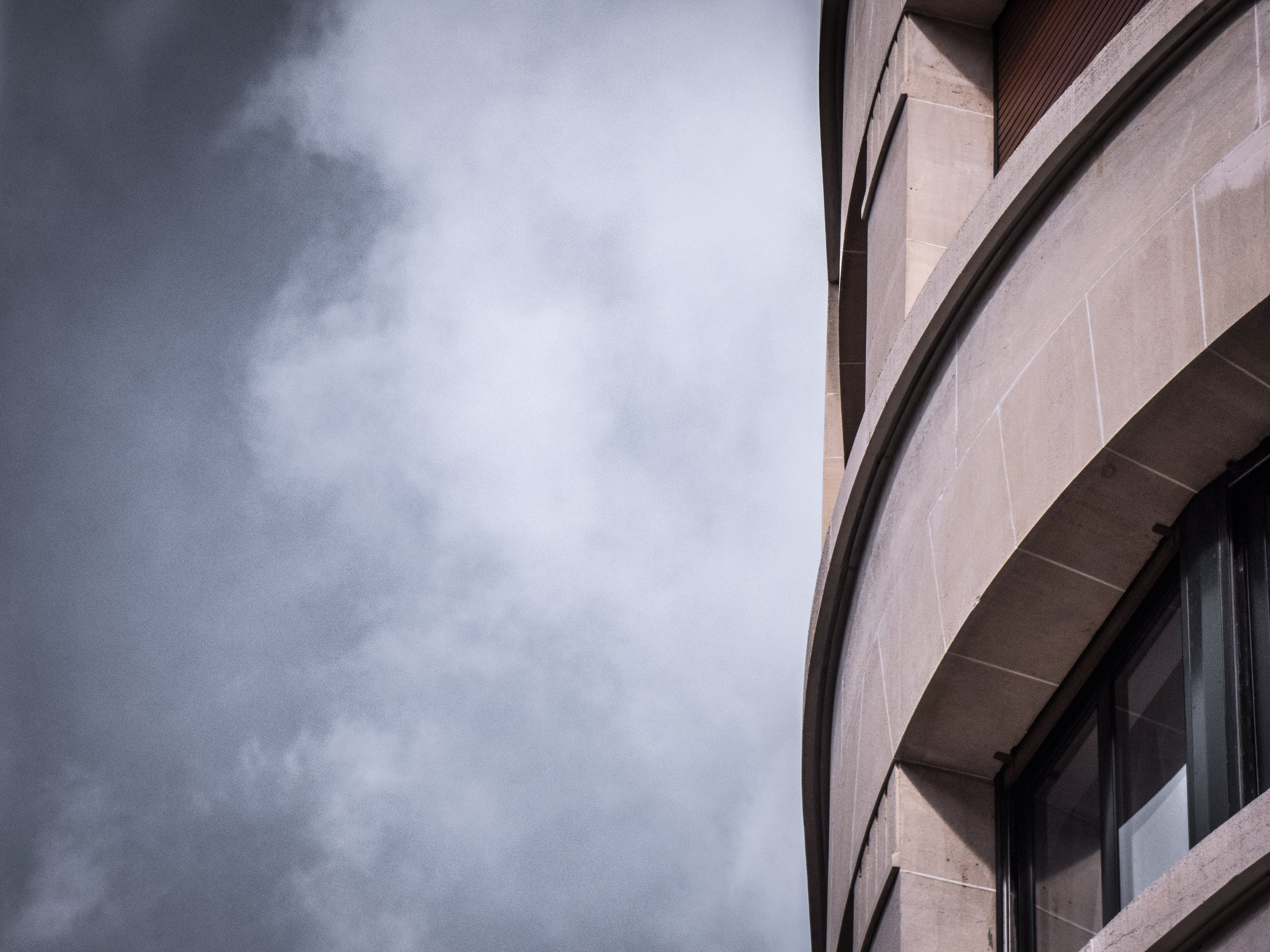 Free stock photo of building, cloud, gray, grey