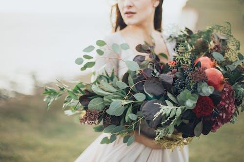 Základová fotografie zdarma na téma nevěsta, osoba, rostlina, žena