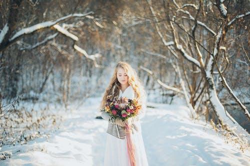 Gratis stockfoto met aantrekkelijk mooi, besneeuwd, bevriezen, bevroren