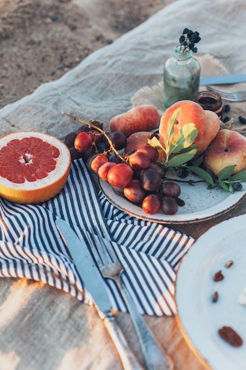 คลังภาพถ่ายฟรี ของ จาน, ถาด, ผลไม้, อร่อย
