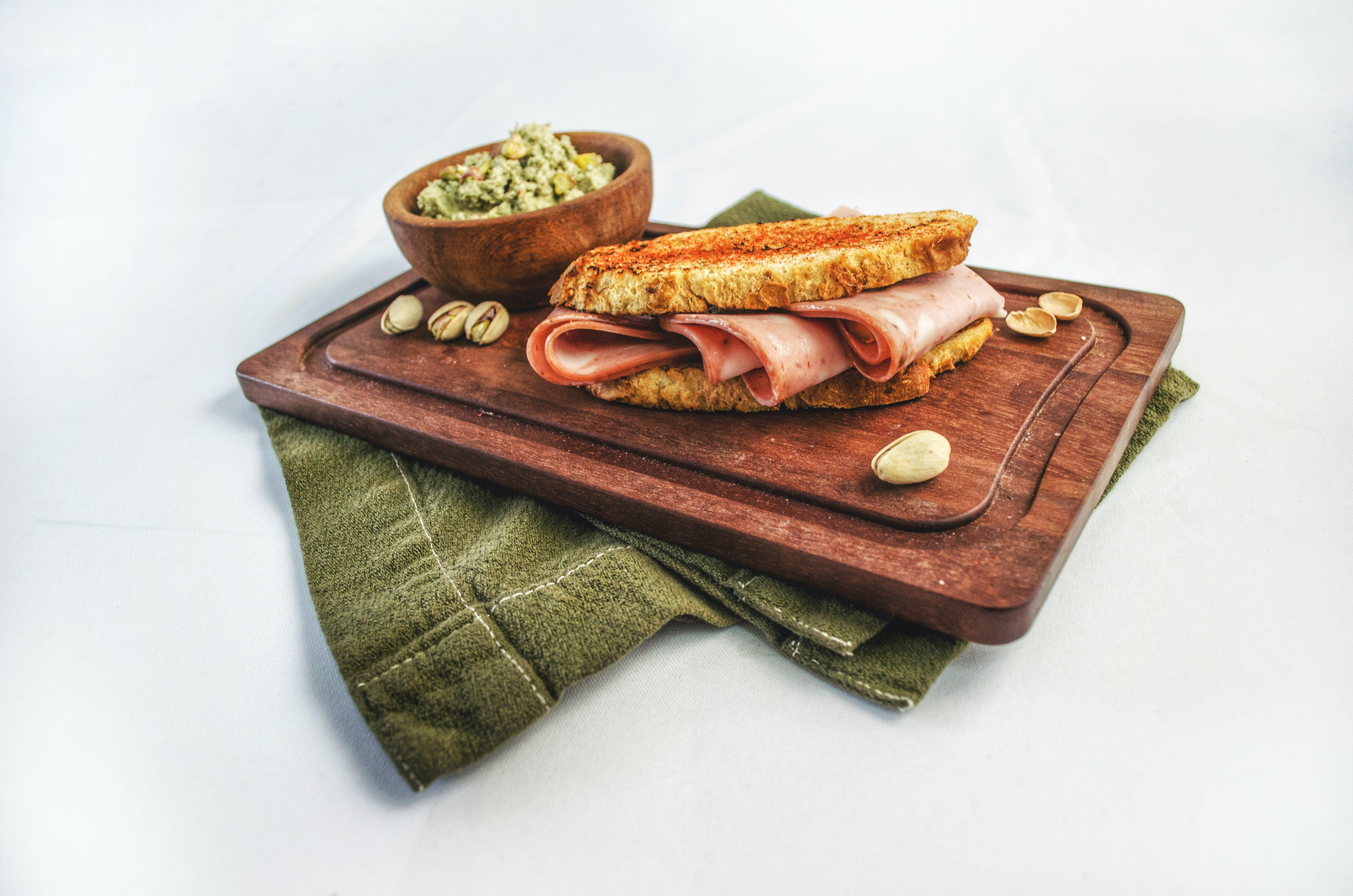 Bread On Tray