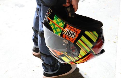 Free stock photo of agv, agv helmet, canon, canon 200d
