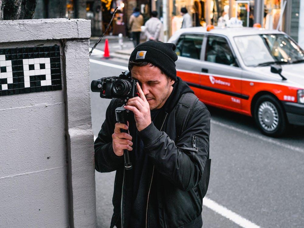 กล้อง, การถ่ายภาพ, กำลังถ่ายรูป