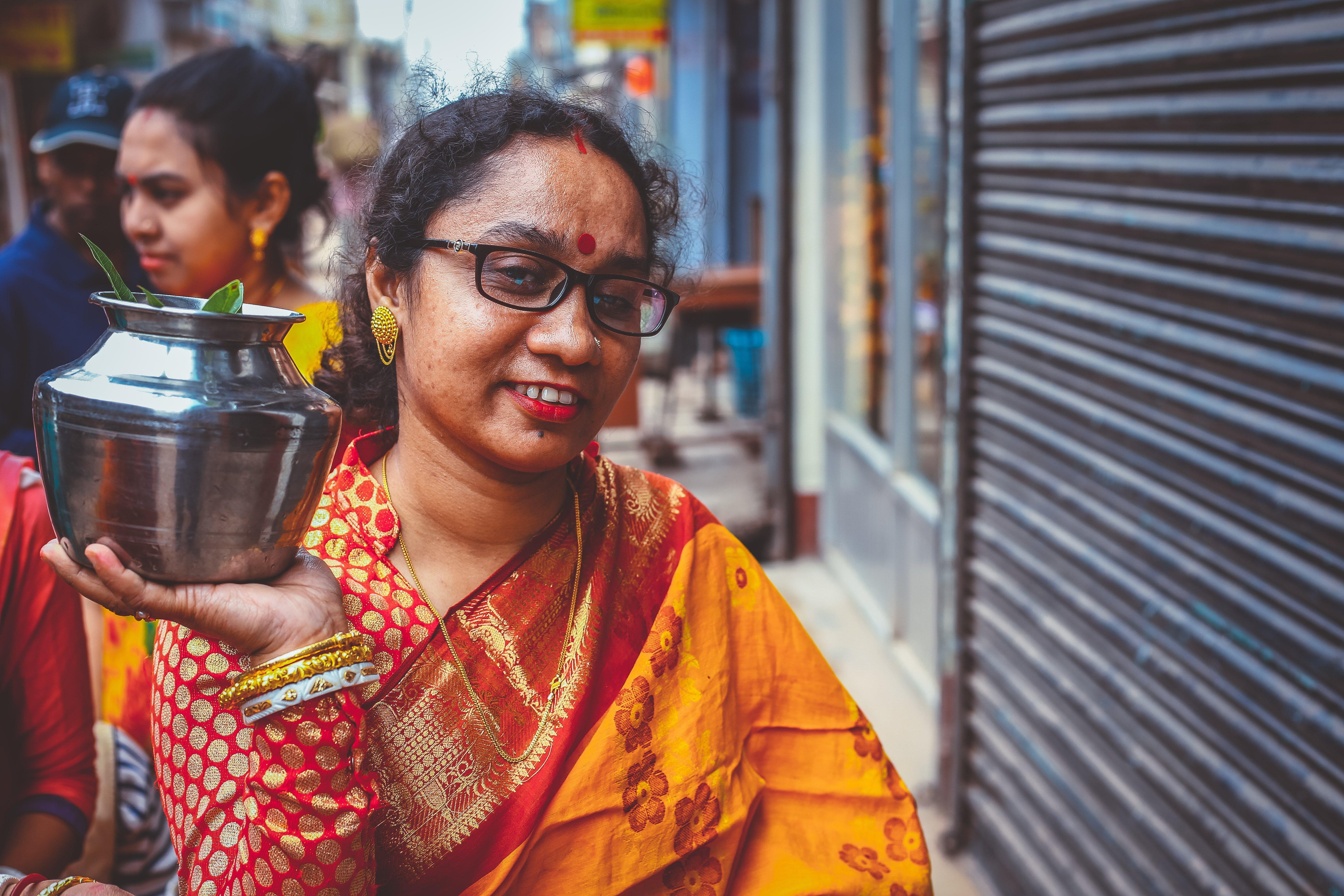 Základová fotografie zdarma na téma hinduismus, hrnec, indiánské tradice, ocel