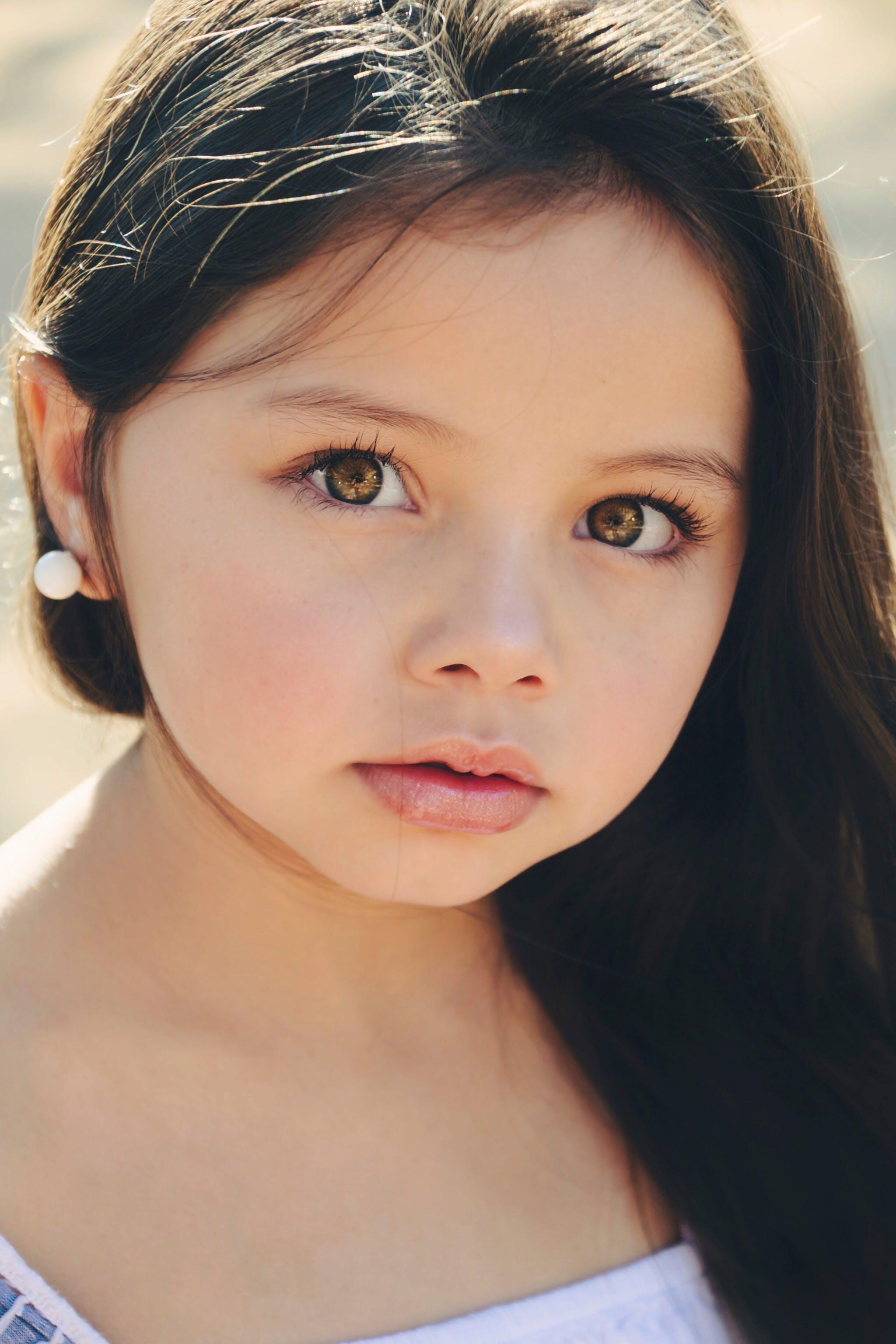 of girl, kid, model, modelo