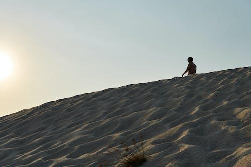 모래, 사막, 태양의 무료 스톡 사진
