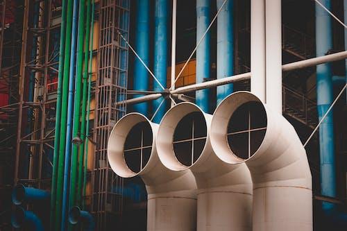 Foto profissional grátis de aço, alto, espesso, estrutura