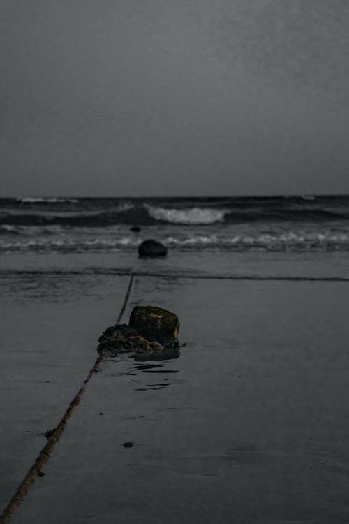 Gratis arkivbilde med blått hav, brytende bølger, bølger, fokus