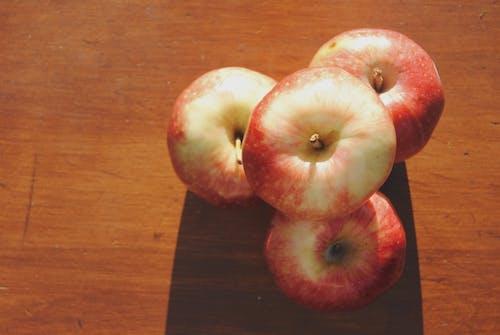 Free stock photo of apples, farm produce, fresh, stacked