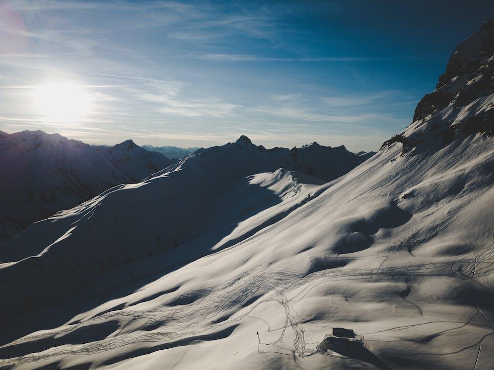 Foto profissional grátis de esqui, freeride, inverno