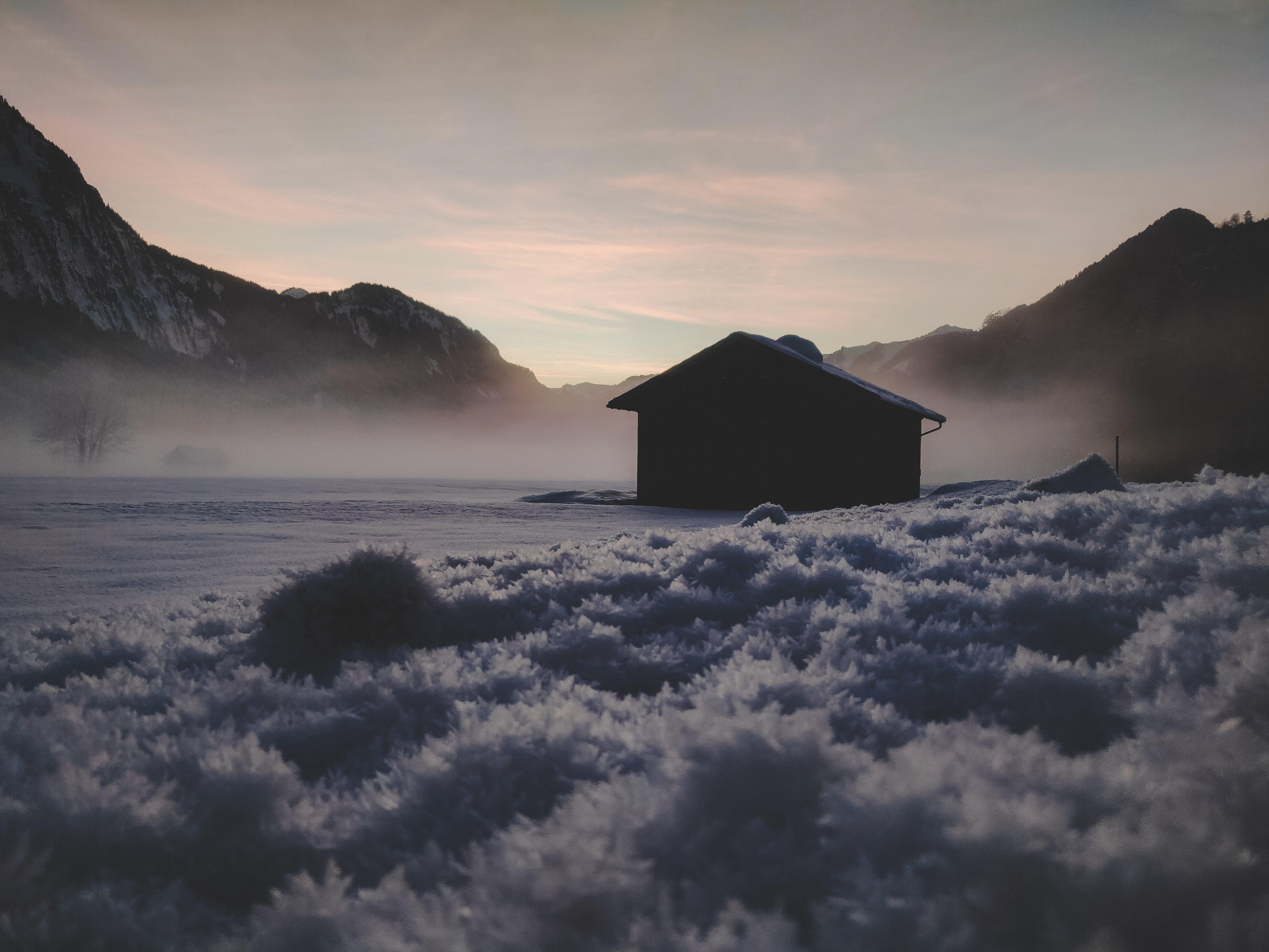 Immagine gratuita di austria, casa di legno, freddo, inverno