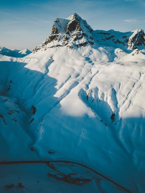 凍る, 山頂, 氷河, 環境の無料の写真素材