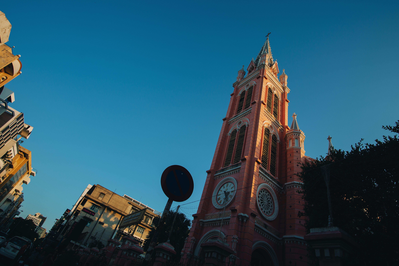 城鎮, 塔, 大教堂, 建築 的 免费素材照片