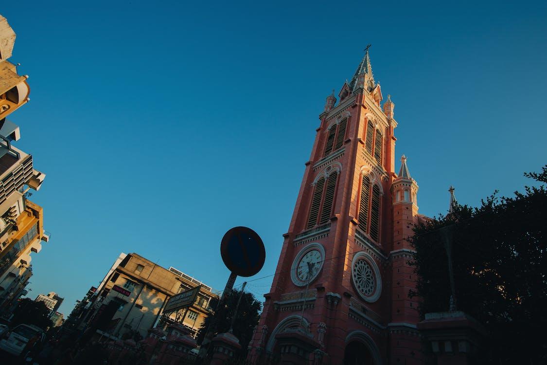 architettura, cattedrale, chiesa