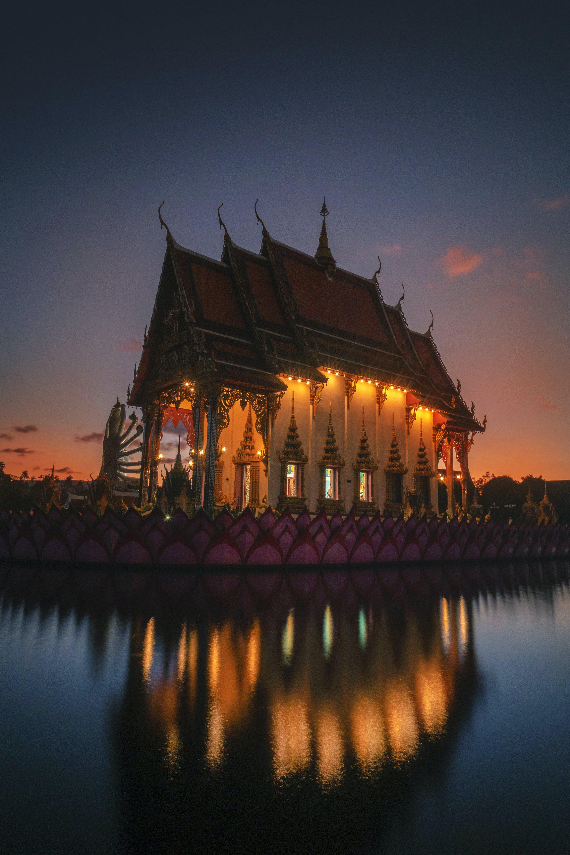Ảnh lưu trữ miễn phí về chiếu sáng, kiến trúc, ngôi đền, nước Thái Lan