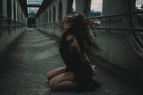 Kostenloses Stock Foto zu angst, brücke, draußen, dunkel