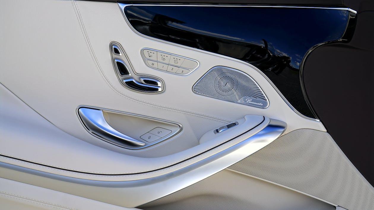 White Car Door