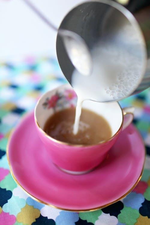aromat, cappuccino, ciepły