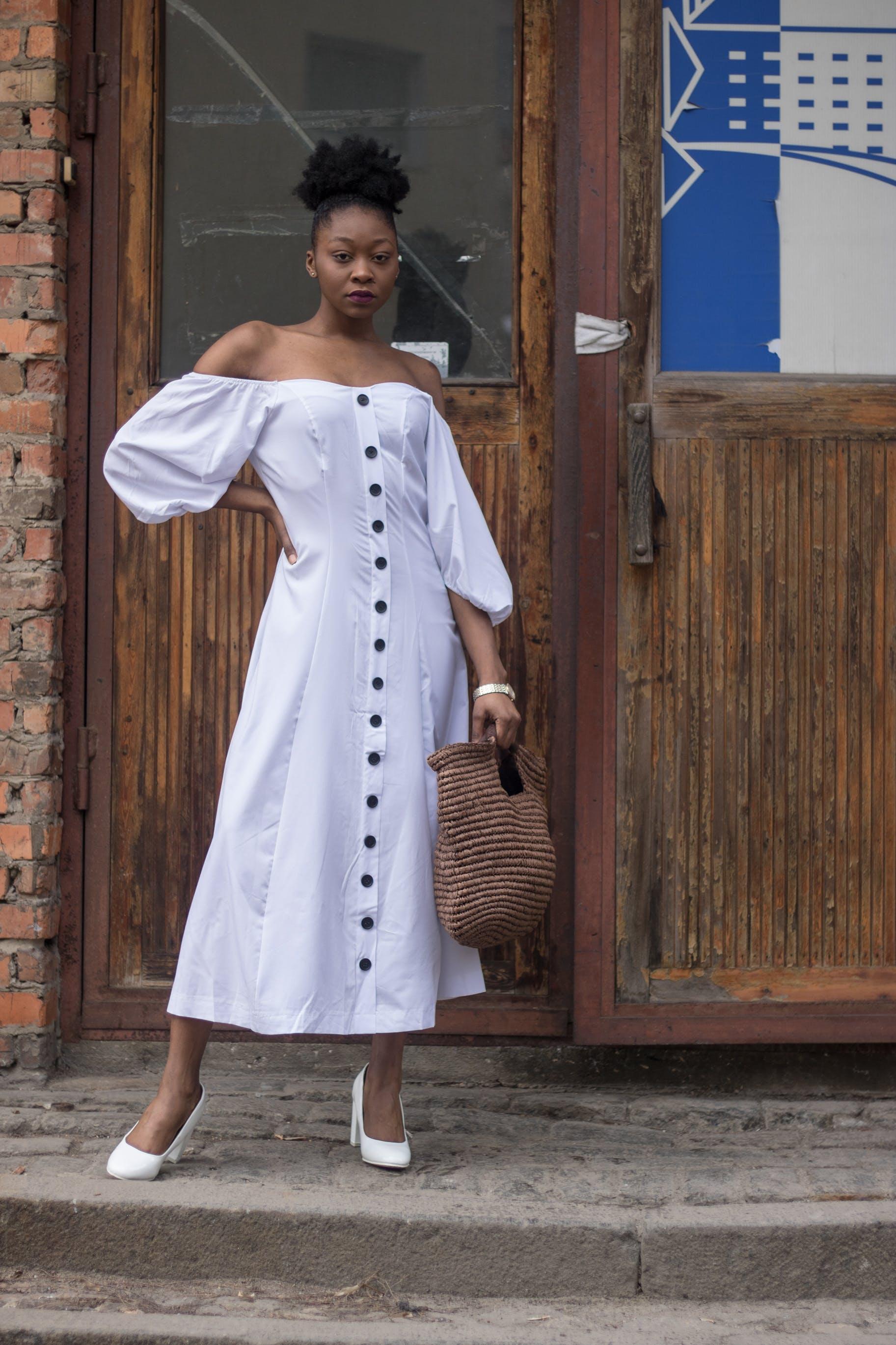 Foto stok gratis bagus, fashion, gaun, gaya