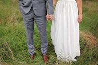 man, suit, couple