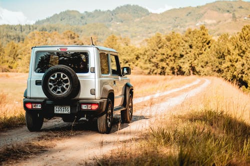 Jeep On A Road