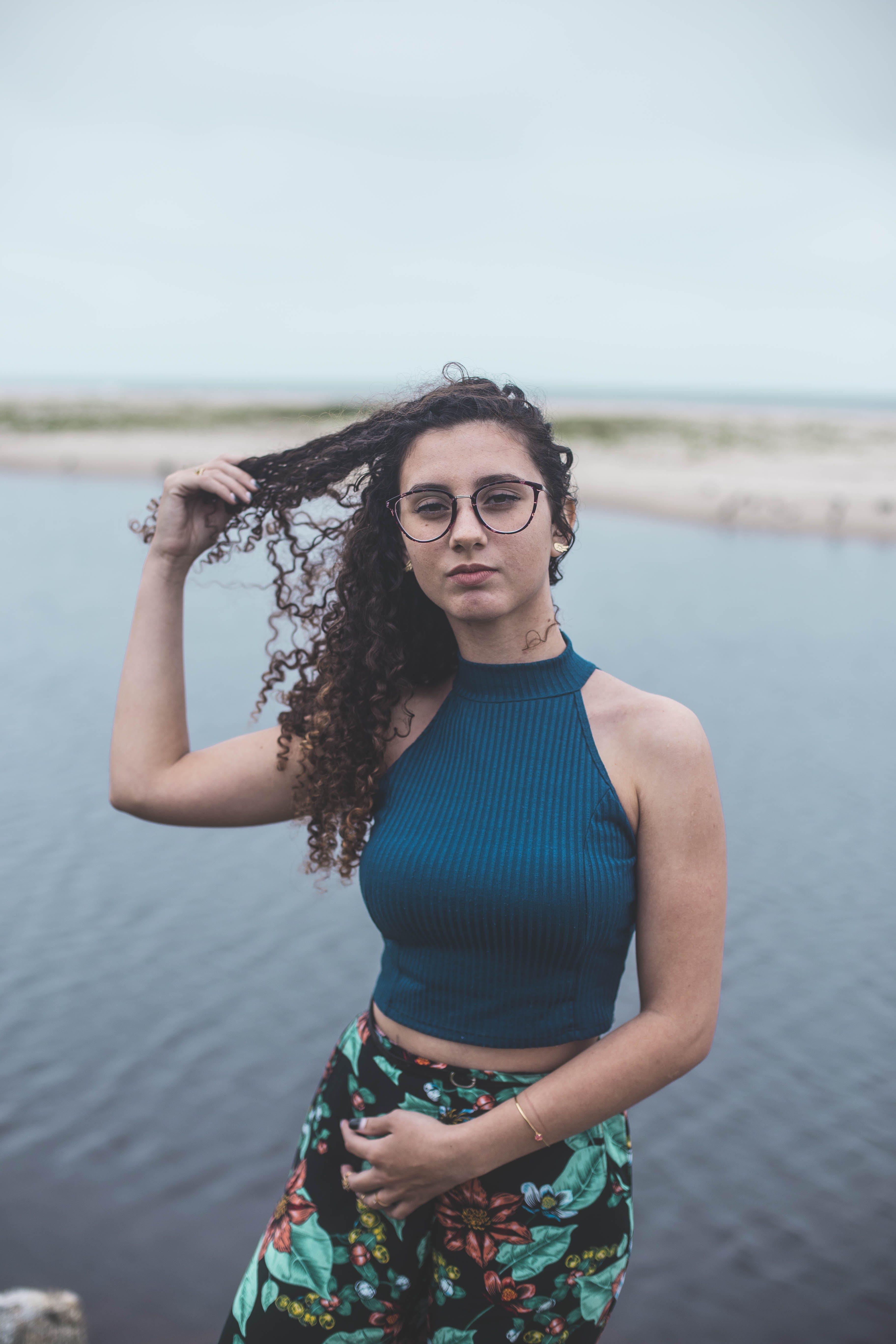 곱슬머리, 레저, 물, 블루의 무료 스톡 사진