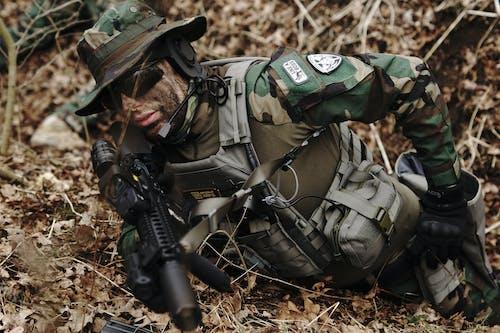 Gratis stockfoto met airsoft, camouflage, leger