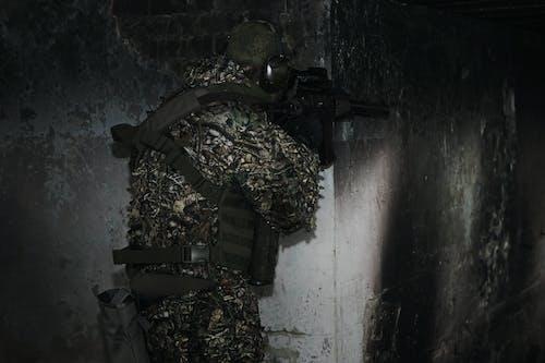 Gratis stockfoto met airsoft, camouflage, geweer
