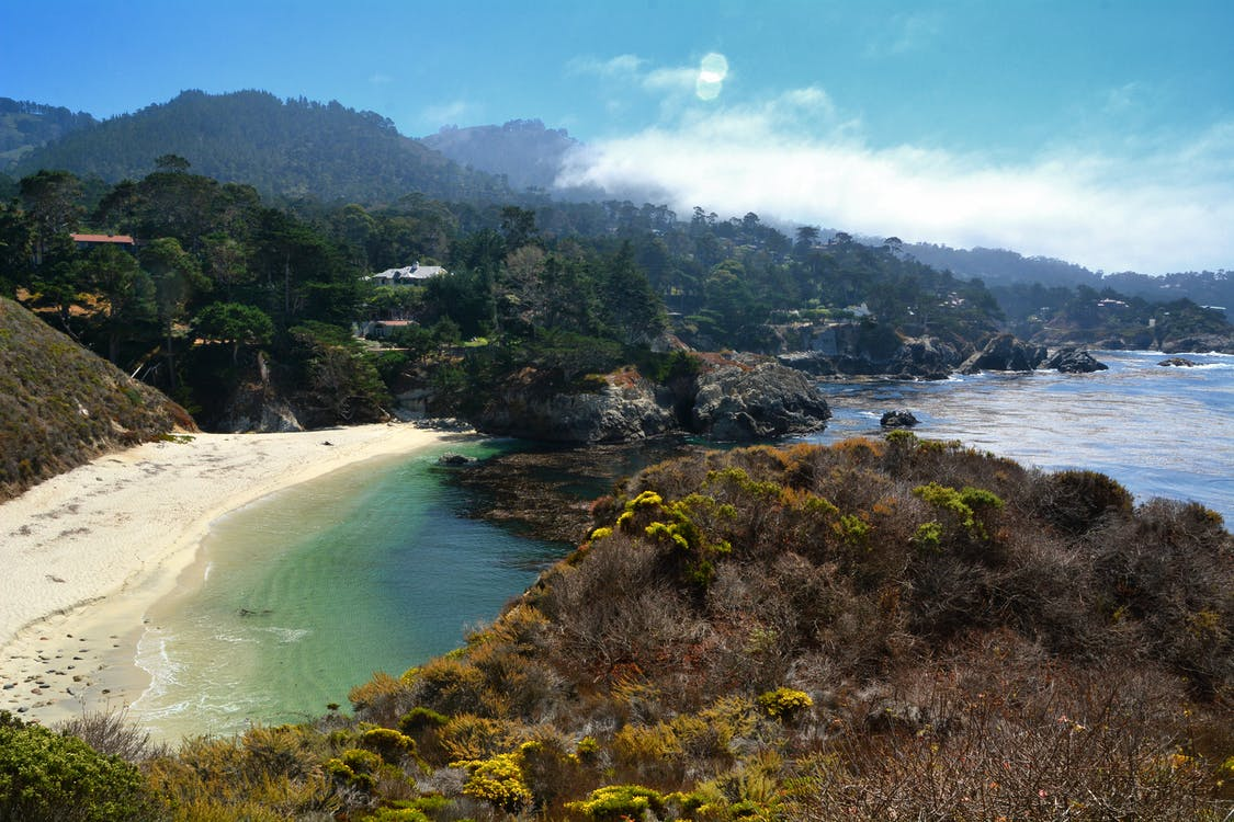 Free stock photo of big sur, Carmel, China Cove