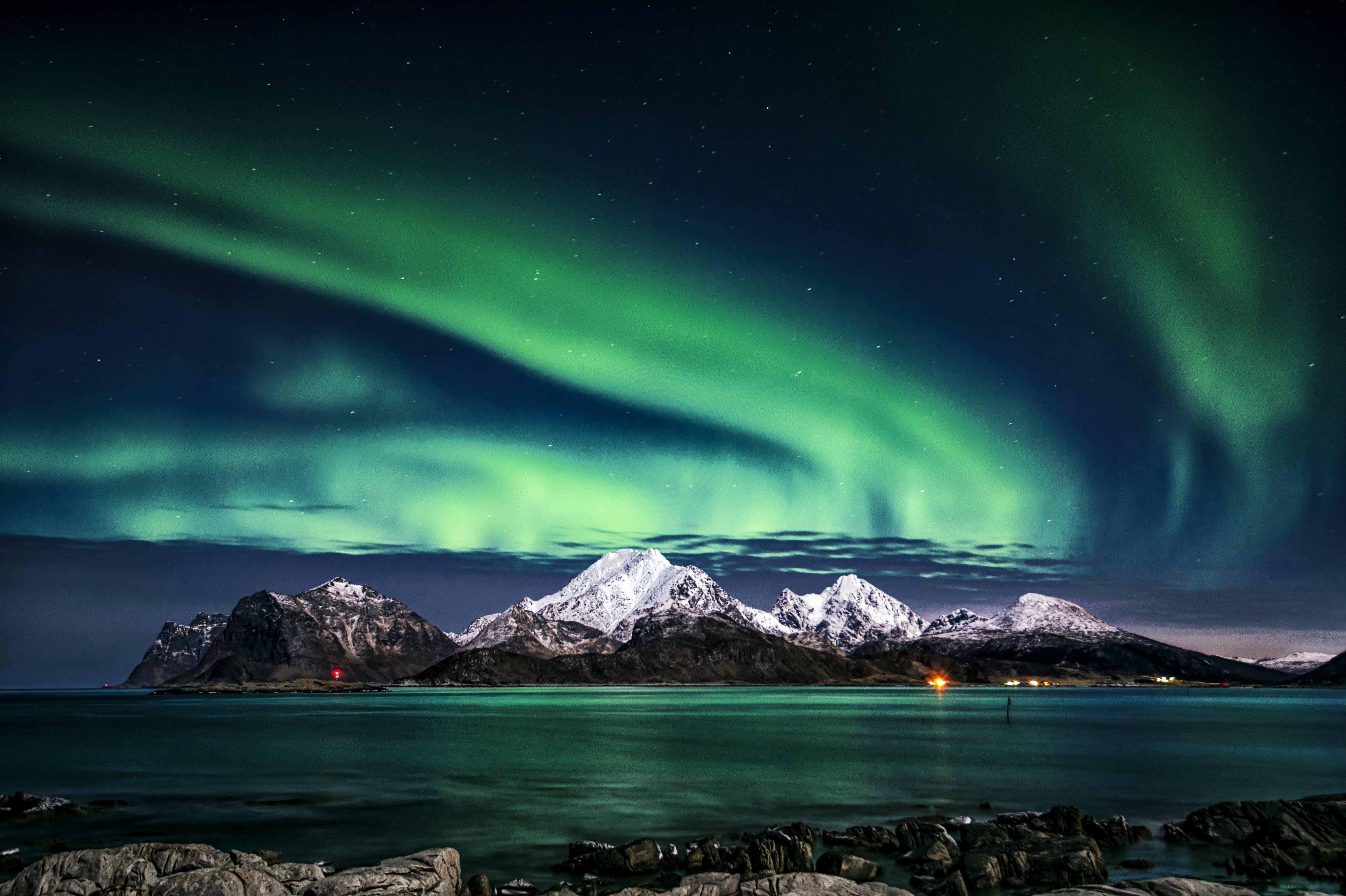 คลังภาพถ่ายฟรี ของ lofoten, ทะเล, ท้องฟ้า, ธรรมชาติ