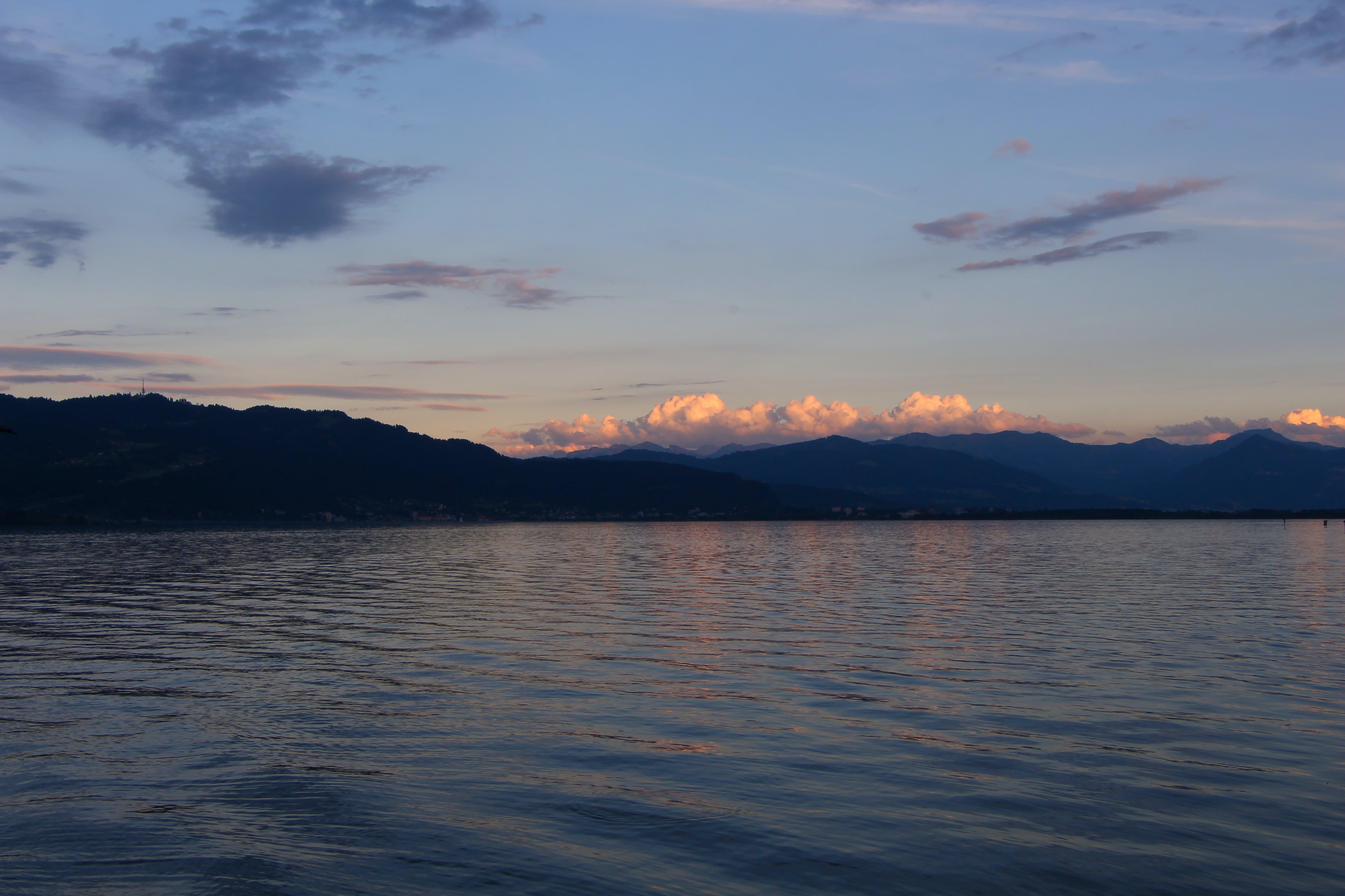 Kostenloses Stock Foto zu abend, alpen, berg, berge