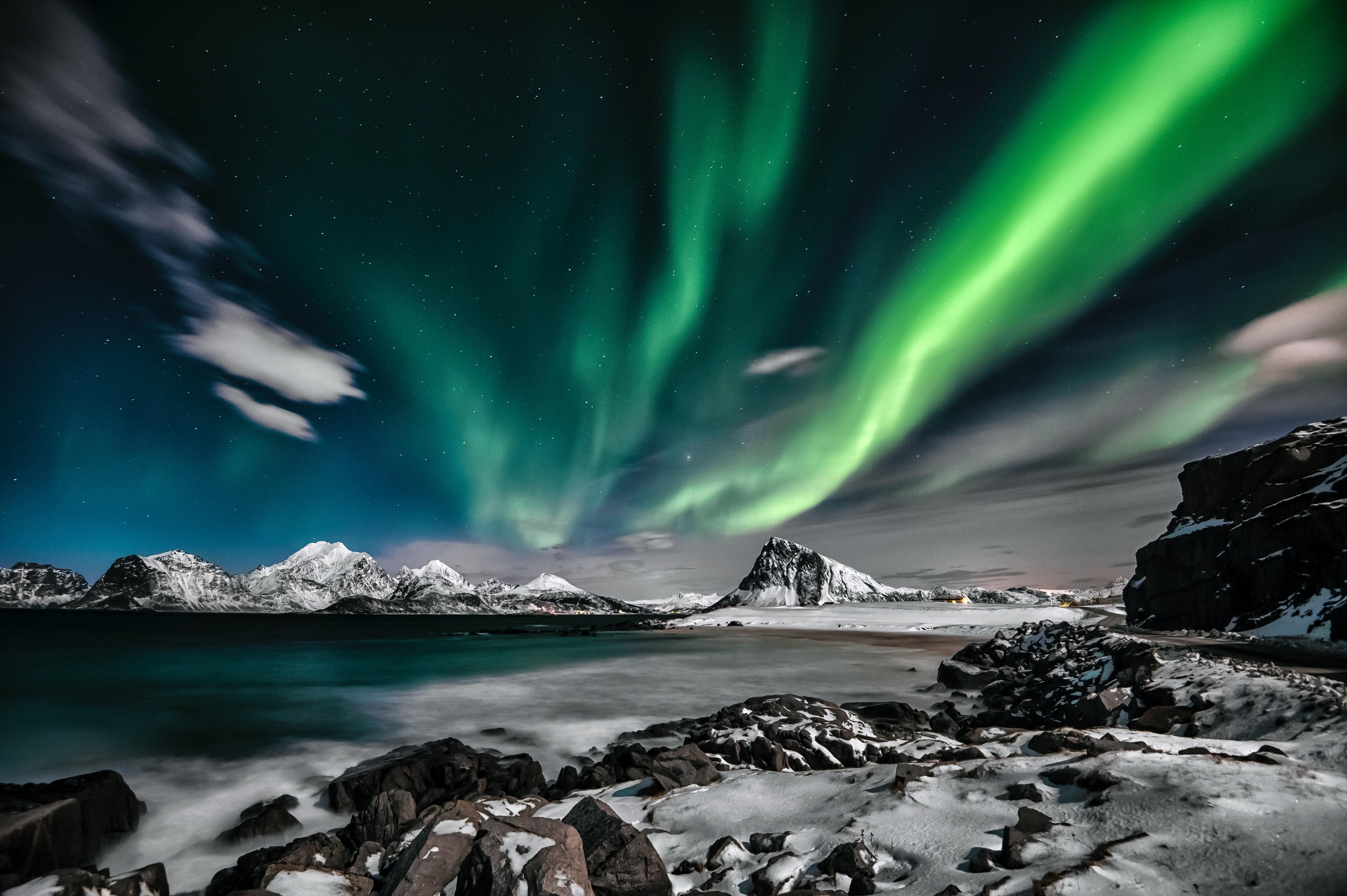 Aurora Borealis 183 Free Stock Photo