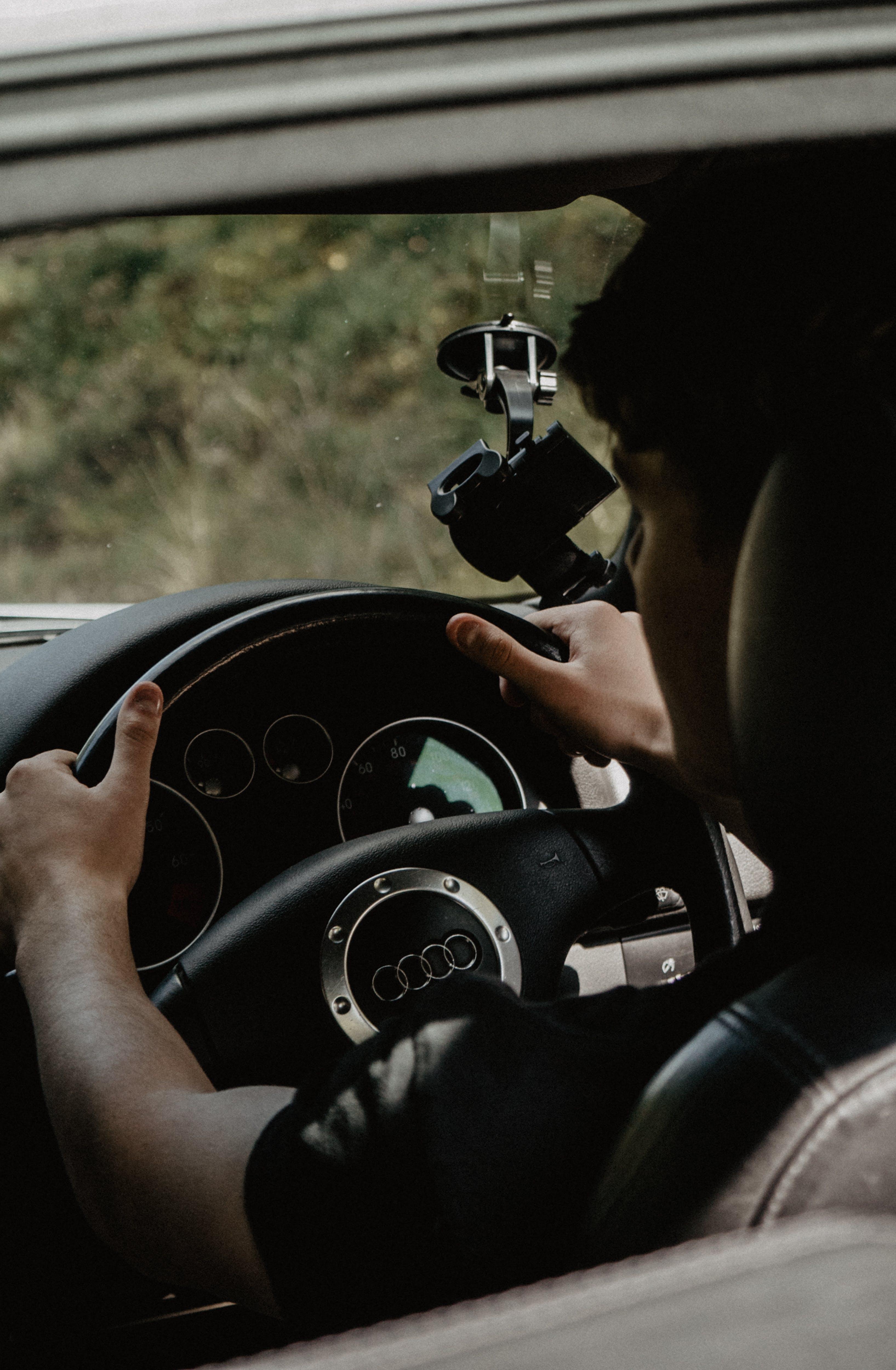 Kostenloses Stock Foto zu armaturenbrett, audi, auto, autoinnenraum