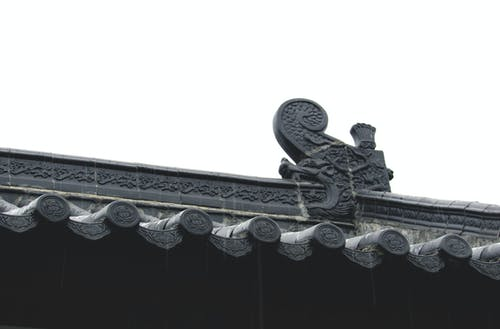 中國, 中國建築, 亞洲建築, 屋頂 的 免費圖庫相片