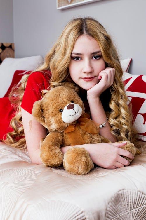Imagine de stoc gratuită din blondă, fată, frumusețe