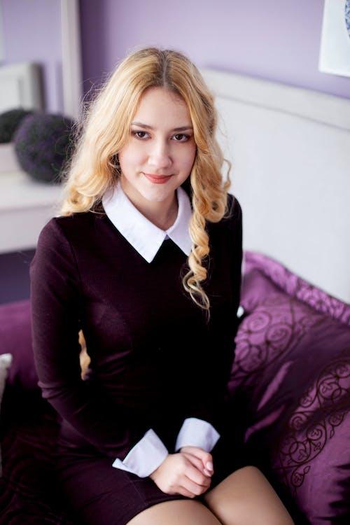 Kostenloses Stock Foto zu #blond, #lächeln, #mädchen, #schönheit
