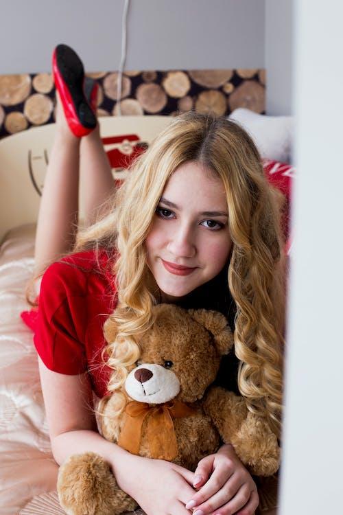 #スマイル, #ブロンド, #女の子, #幸福の無料の写真素材