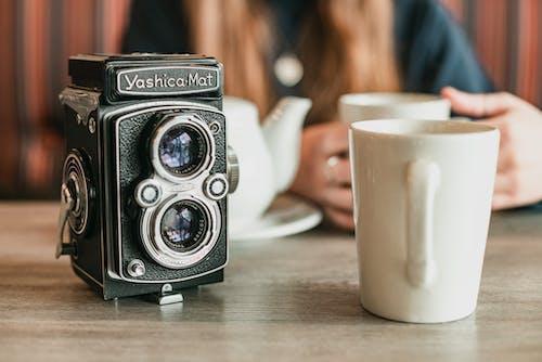 คลังภาพถ่ายฟรี ของ กล้อง, กาแฟ, คลาสสิก, คาเฟอีน