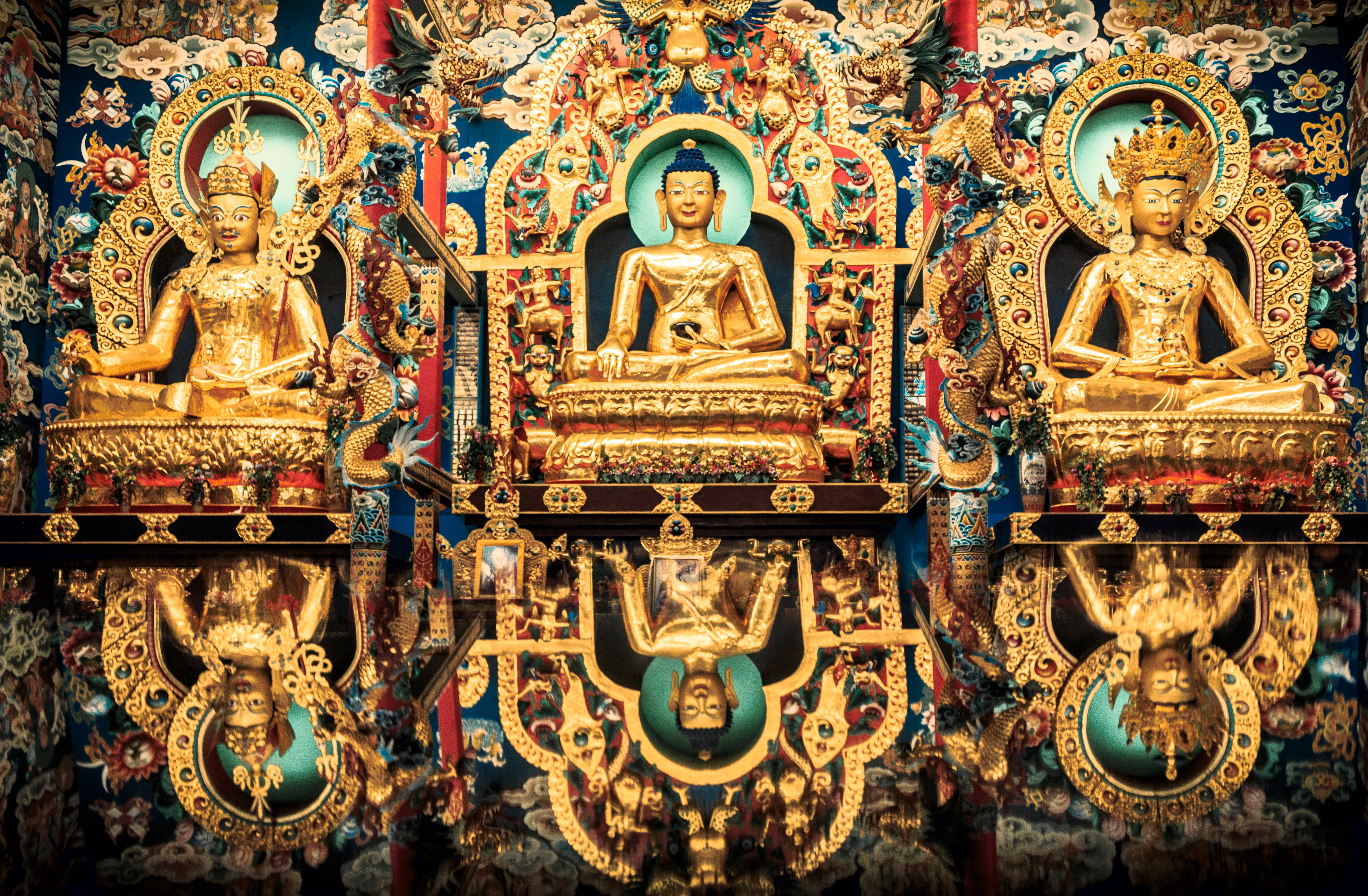 Free stock photo of asia, buddha, buddhist temple, colorful