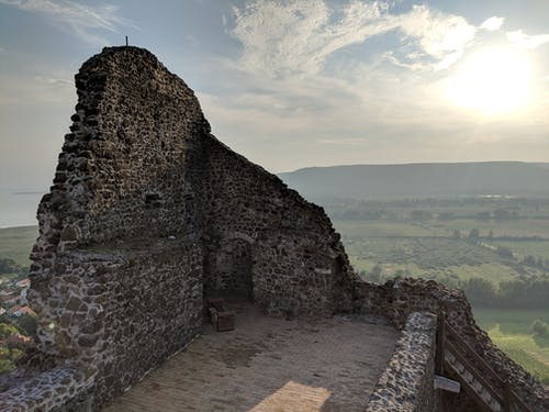 Free stock photo of ancient, castle, hill