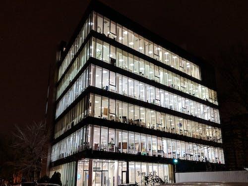 Free stock photo of building, dark, glass