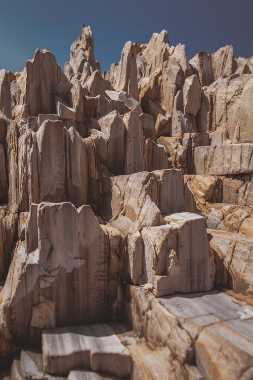 erózió, geológia, geológiai formáció