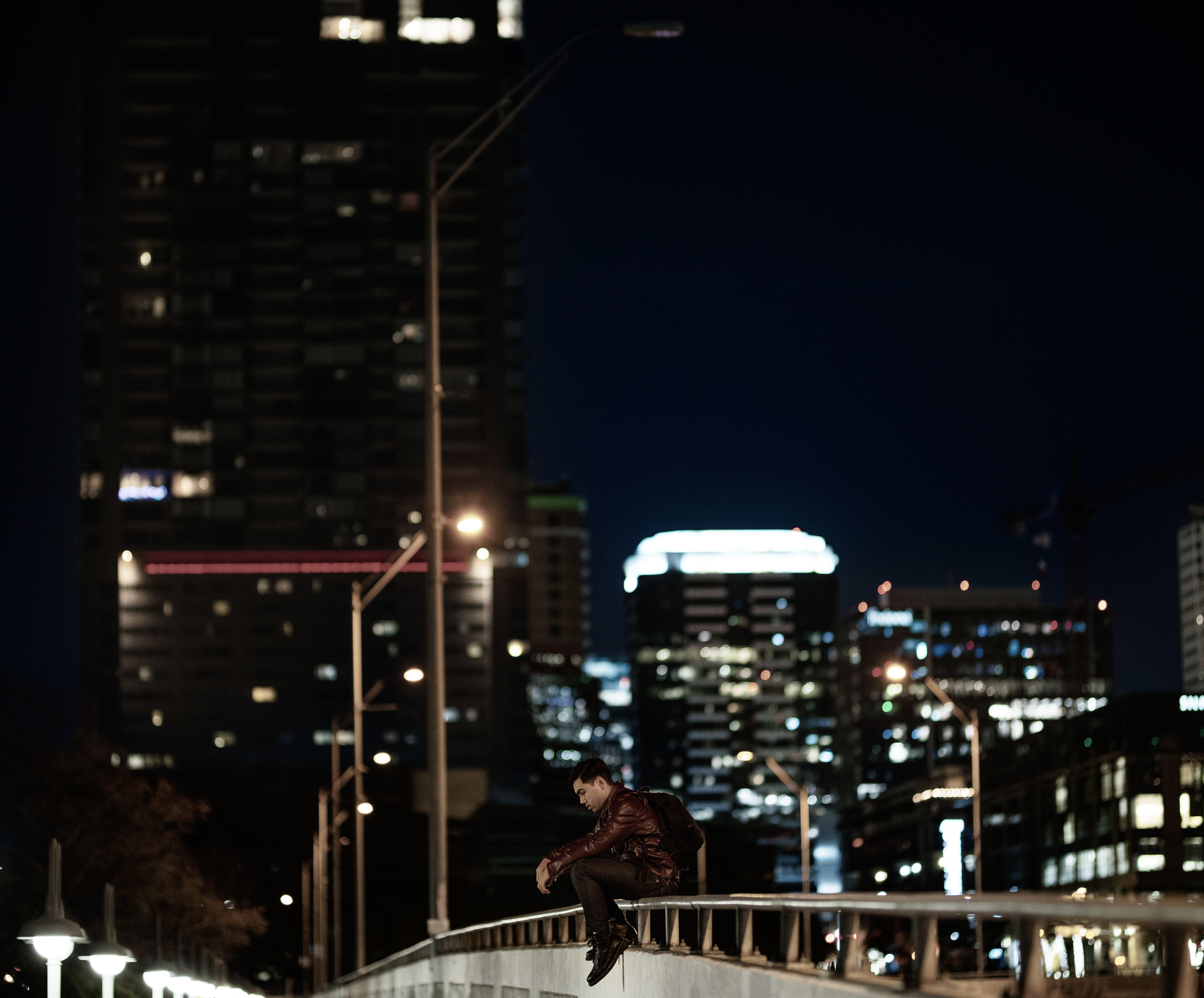 のどかな, シティ, ストリート写真, 寂しいの無料の写真素材