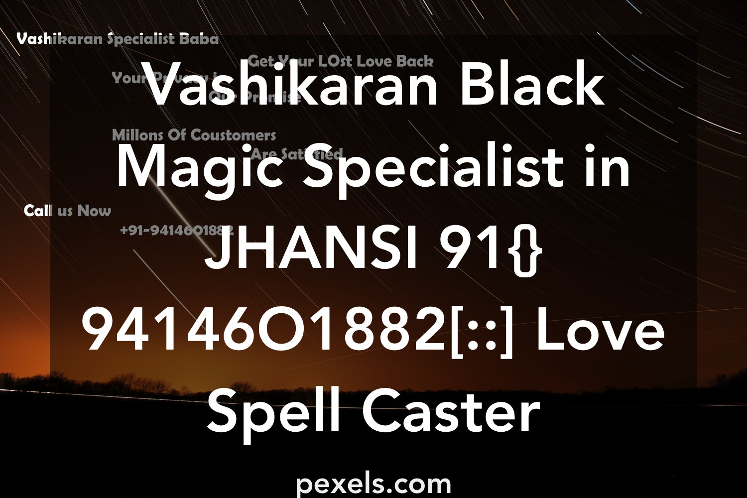 Vashikaran Black Magic Specialist in JHANSI 91{}94146O1882