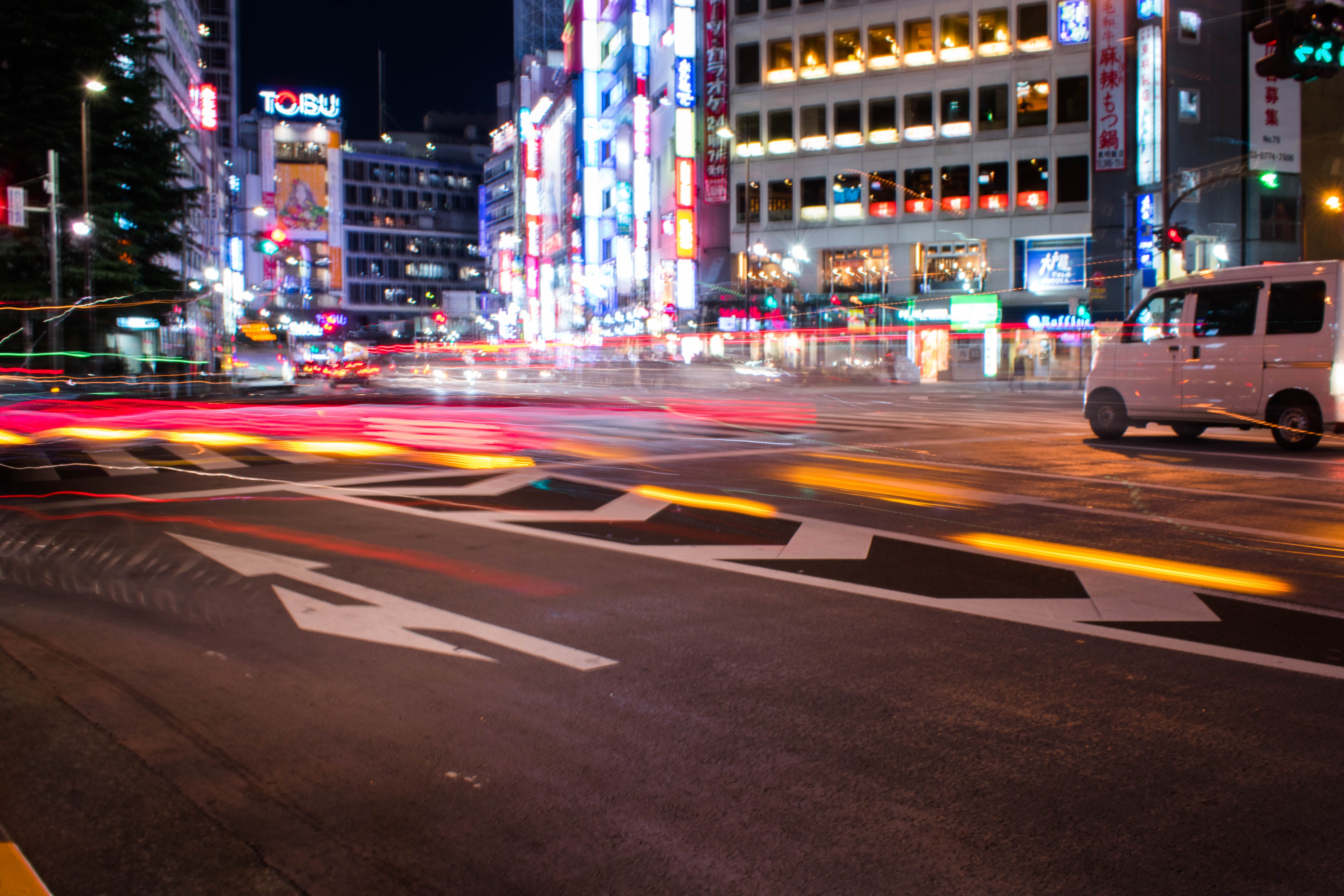 Free stock photo of Hit the streets, holiday, japan, long exposure