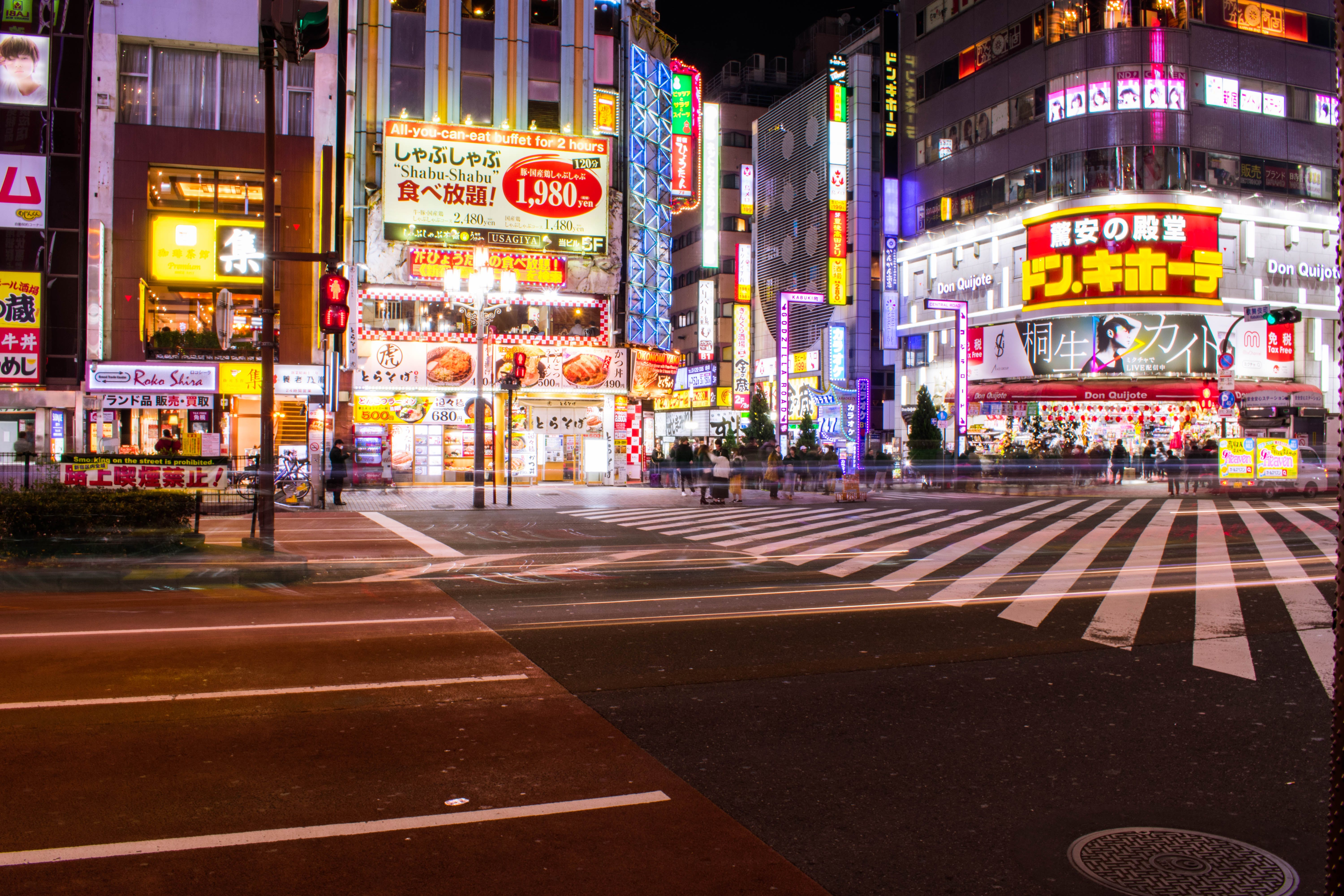 Free stock photo of Hit the streets, holiday, japan, night lights